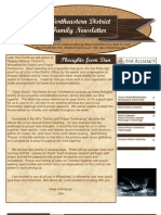 Apr 2010 Family Newsletter, Northeastern District Christian and Missionary Alliance