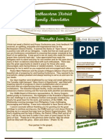May 2010 Family Newsletter, Northeastern District Christian and Missionary Alliance