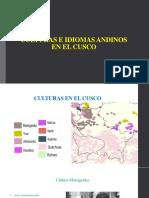 Culturas e Idiomas Andinos en El Cusco