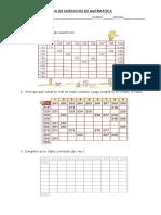 Guia de Ejercicios de Matemática