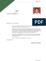 Ajay Kumar Pundir Resume