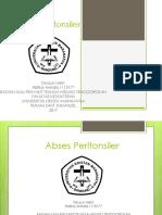 Referat Peritonsiler Abses