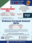 Bureau of Indian Standard (BIS)_OPC 33 Grade-OPC 43 Grade-OPC 53 Grade-PPC-PSC_Use of Cement