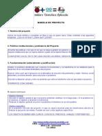 Modelo de Proyecto Semillero Domotica Aplicada