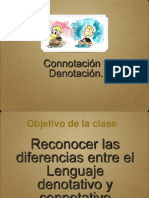 Lenguaje Connotativo y Denotativo y Género Lírico