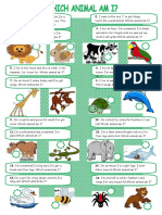 Describing Animals Fun Activities Games 36907