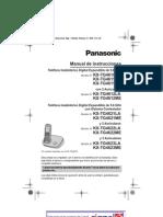 Manual Telefono Panasonic Kx-tg4621