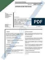 NBR 5413-1992 - Iluminância de Interiores.pdf