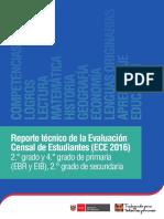 Reporte Tecnico ECE 2016