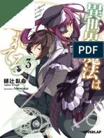 Isekai Mahou Wa Okureteru Vol 3 LN