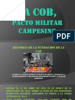 Cob, Pacto Militar Camp.
