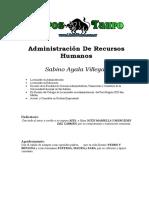 Sabino Ayala Villegas - Administracion de Recursos Humanos