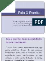 UEFS - Fala X Escrita