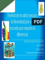 festival de la salud sexual y la diversidad