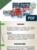 EFECTO DE LAS CONDICIONES DE CONSERVACIÓN SOBRE LA.pptx
