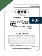 da300p manual