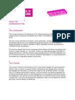 LFA Open Call Pride in Architecture