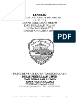 Laporan Kinerja Instansi Pemerintah