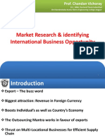 market research international business opportunity