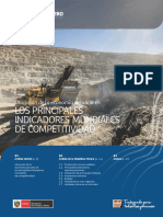 Boletín Estadístico Minero, Perú, enero 2018