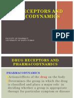Drug Receptors & Pharmacodynamics