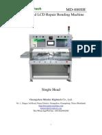 MD 880SH Single Head LCD Repair Bonding Machine