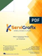 Catálogo SERVIGRAFIX 2017
