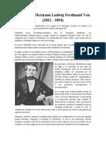 Helmholtz biografia