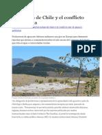 Las Paltas de Chile y El Conflicto Por El Agua
