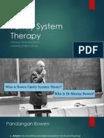 Family System Therapynanang