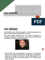 Entrevista sobre H.P. (Luis Barrales)