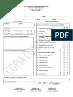 6. Formatos de Inspecciones de Seguridad a Maquinas Equipos y Herramientas