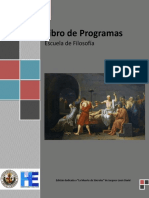 Libro de Programas 2018-II