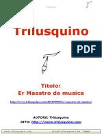 Er Maestro de Musica