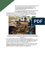 El hallazgo reciente de nueve urnas funerarias de pueblos indígenas que habitaron la Amazonía.docx