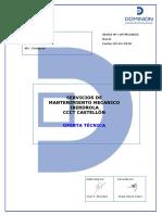Iberdrola Cas Oftmi18025 Oferta Tecnica Rev0