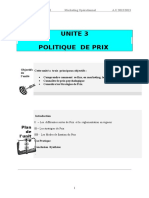 UNITE 3 LE PRIX