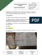 POP Controle de Qualidade Produto Manipulado