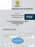 Pengaruh Psikososial Pada Skizofrenia