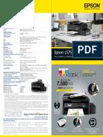 Epson L575 Caracteristicas