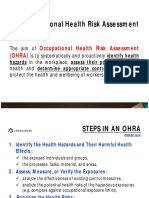 2. Occupational Health Risk Assessment (1)