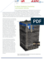 The Facts About Hydraulic Fracturing and Seismic Activity