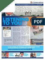 Conor Burns MP Annual Report 2018