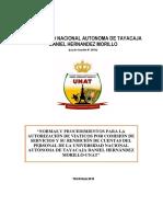 Directiva de Viaticos Unat-2018