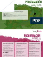 Programación Semana Por La Paz 2018
