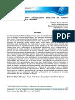 Divulgação do acervo arqueológico de mineração no período colonial em Ouro Preto e Mariana