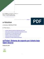 e-VolutionNEWSLETTER-4Octubre2010