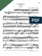 Mozart Sonate I Tagliate