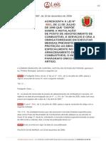 Stephanes Junior Jr Lei Que Regula a Instalação de Posto de Combustível Lo 12087_2006