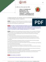 Stephanes Junior Jr Lei de Criação Do Conselho Municipal de Proteção Aos Animaislo11398_2005 Consolidada-[27!12!2012]